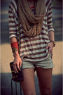 Zara-shorts-anthropologie-t-shirt