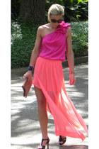 sheer fashion Zara skirt