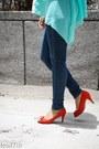 Suede-zara-heels