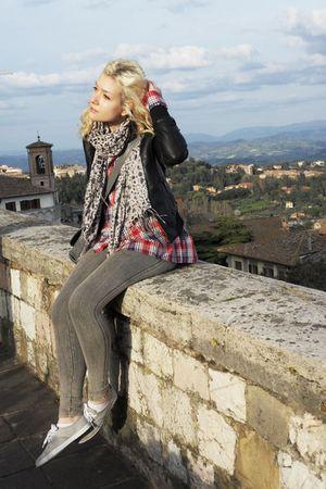 subdued jacket - Zara Kids leggings - H&M shoes - H&M scarf