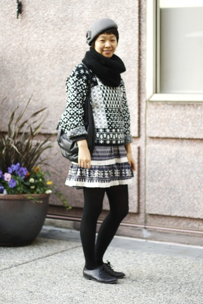 black knit chictopia shop fancytreehouse sweater