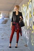 Zara jeans - Givenchy bag - acne t-shirt
