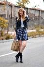 Valentino-shoes-celine-bag-zara-skirt