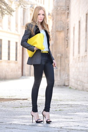 The Kooples pants - Queens Wardrobe blazer - t by alexander wang t-shirt