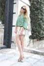 Ivory-queens-wardrobe-shorts-dark-brown-gucci-sunglasses-ivory-zara-pumps