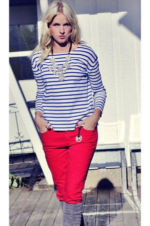 Zara sweater - Michael Kors jeans - Zara necklace