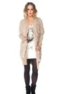 Tan-comfy-furry-coat-jacket-white-loose-fit-skull-tank-shirt
