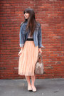 Tan-blowfish-shoes-blue-thrifted-gap-jacket-tan-theit-bag-heather-gray-gap