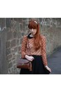 Burnt-orange-primark-blouse-black-h-m-skirt