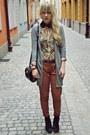 Vintage-bag-primark-cardigan-camaieu-blouse-new-look-pants