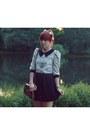 Black-h-m-skirt-ivory-lace-lalamagic-blouse