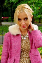 hot pink River Island jacket - nude Coccnelle bag