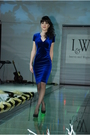 Blue-iandw-dress