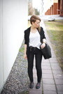 Black-tight-dr-denim-jeans-black-viscose-cos-blazer-black-leather-zara-bag