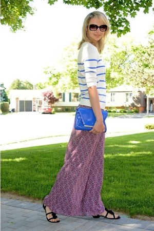 blue material girl purse - pink AnnaleeHope pants - blue merona top