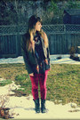 Black-call-it-spring-boots-black-dynamite-jacket-crimson-romwe-leggings