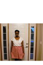 White-walmart-shirt-red-necessary-objects-skirt
