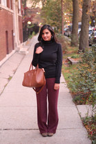 cotton Old Navy sweater - burgundy Target pants
