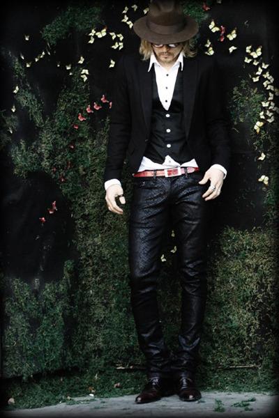 black BYTHER blazer - black BYTHER pants