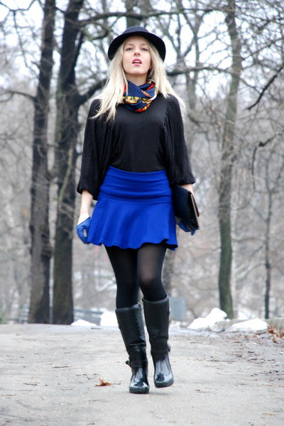frills Bershka skirt