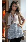 H-m-blazer-h-m-shirt-bijou-brigitte-necklace-h-m-skirt