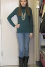 Blue-target-shirt-h-m-necklace-blue-forever-21-jeans