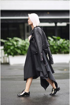 biker jacket Zara jacket - MU dress