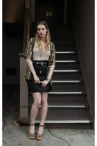 vintage shirt - See by Chloe wedges