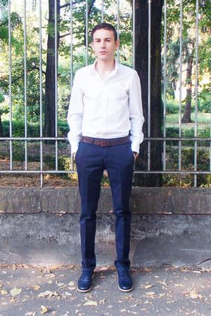 Orient watch - H&M shoes - Dolce & Gabbana shirt - ANDREW MILLIGAN pants
