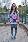 Tally-weijl-jeans-h-m-necklace-sheinside-sweatshirt-nike-air-max-sneakers