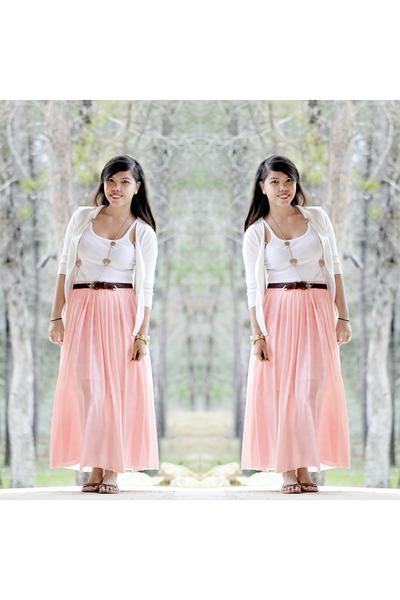 Forever 21 cardigan - IYA skirt