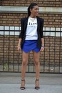 H-m-blazer-zara-shorts-celine-t-shirt
