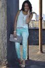 Tan-strap-nicole-miller-shoes-aquamarine-distress-jcpenny-jeans
