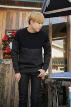 dark gray sweater JAMYAboki sweater