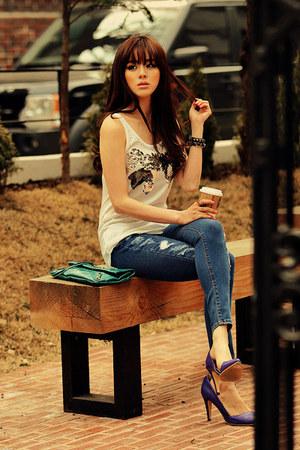 JAMYRedopin shoes - JAMYRedopin jeans - JAMYRedopin bag - JAMYRedopin top