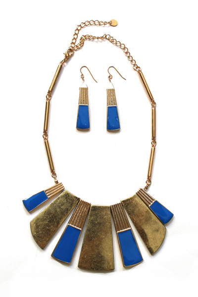 tribal chic necklace