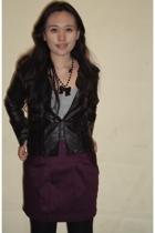 diva necklace - Closet Queen skirt