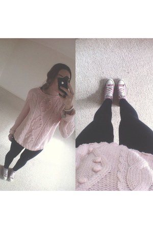light pink Accessorize jumper