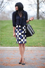 Black-zara-bag-black-christian-louboutin-pumps-navy-bow-zara-blouse