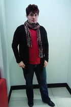 Carbon scarf