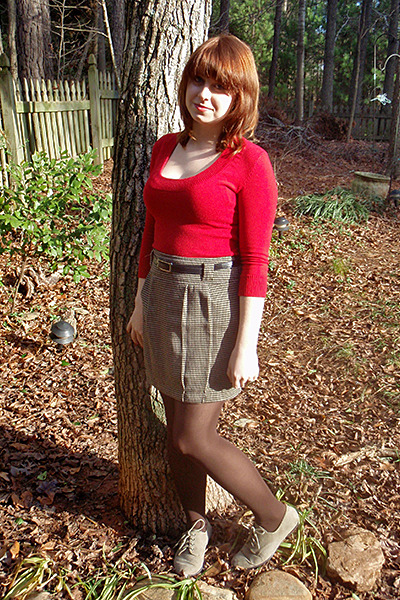 red forever 21 sweaters light brown forever 21 skirts