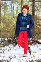 Red Denim & Buffalo Plaid