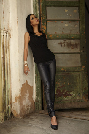JaneClarbour leggings - black JaneClarbour top