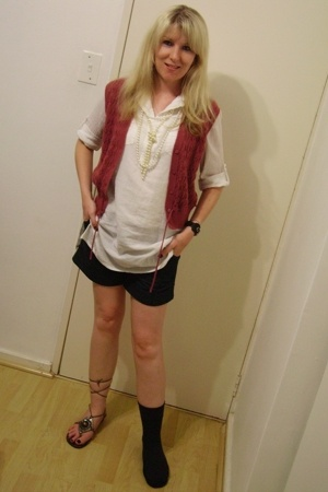 pnp shirt - vintage - Edgars shorts -
