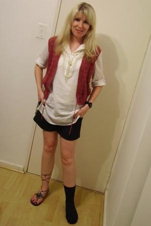pnp shirt - vintage - Edgars shorts -
