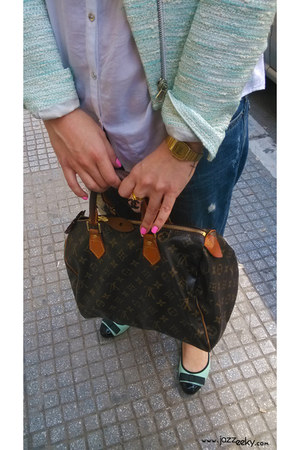 Louis Vuitton bag - H&M accessories - Zara accessories - casio accessories