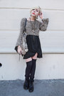 Vintage-dress-vintage-sweater-forever-21-socks