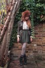 Forest-green-american-apparel-skirt-beige-mango-blouse-camel-h-m-tights-da