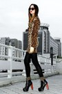 Camel-leopard-print-lulus-dress
