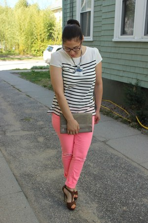 American Eagle jeans - Aldo bag - Colin Stuart sandals
